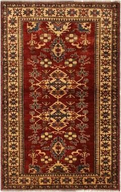 Brick Red Gold Navy Southwestern Rug Multiple Sizes Chic Rug