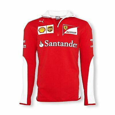 Sponsored Ebay Sweatshirt Fleece Scuderia Ferrari Mens Sponsor Formula One F1 Red White New In 2020 Sweatshirt Fleece Sweatshirts Team T Shirts