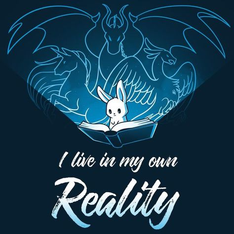 I Live In My Own Reality - #cartoon #Live #Reality