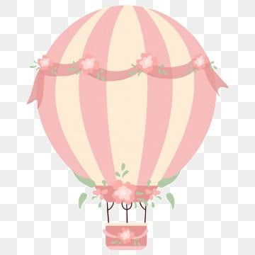 بالونات وردية صغيرة بالونات قصاصات فنية صغيرة طازجة زهري Png وملف Psd للتحميل مجانا Air Balloon Pink Flowers Background Pink Pattern Background
