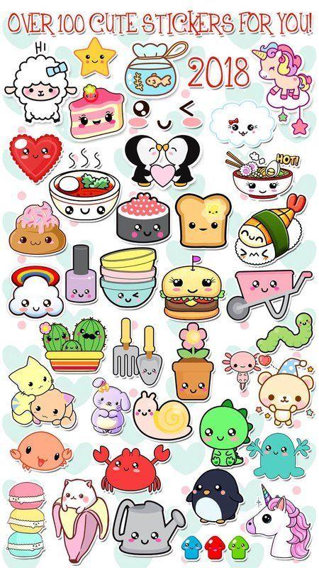 Photo Editor Kawaii Stickers Photo Screenshot 5 Cute Doodle Art Kawaii Doodles Kawaii Stickers