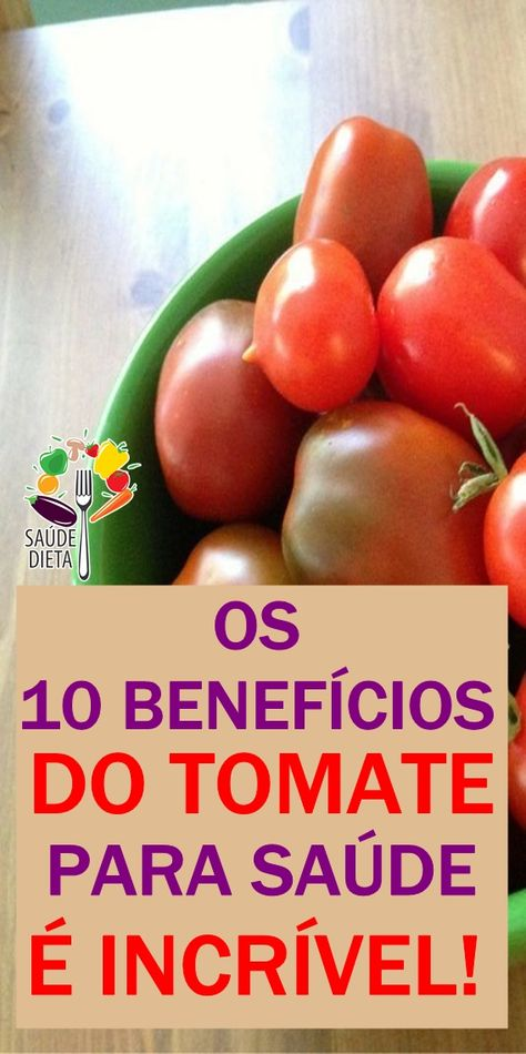 beneficios do tomate na saude