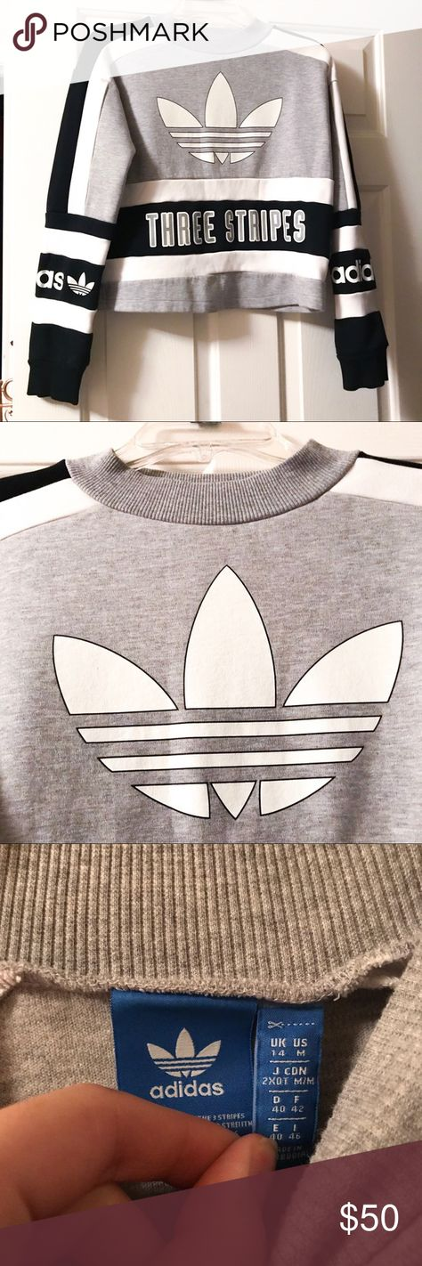 Adidas crop top Crop top, super cute! Absolutely no flaws