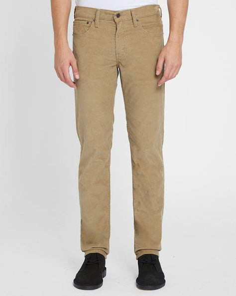 Pantalon 511 Slim Velours Beige LEVI'S