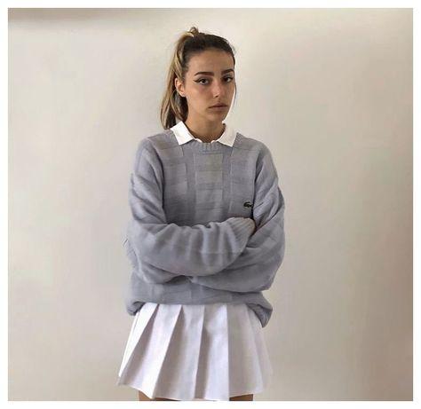 tennis skirt outfit baddie