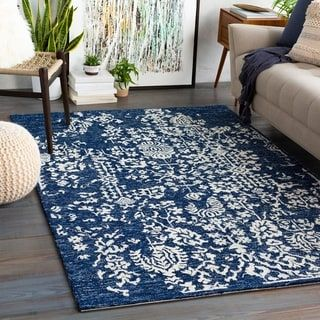 Overstock Com Online Shopping Bedding Furniture Electronics Jewelry Clothing More In 2020 Dark Blue Rug Area Rugs Wool Area Rugs