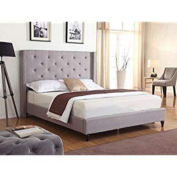 Amazon Com Modus Furniture 3zh3d57 Madeleine Wingback Platform