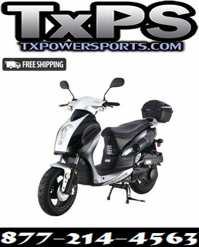 Vitacci Force 49cc Scooter, 4 Stroke, Single Cylinder, Air