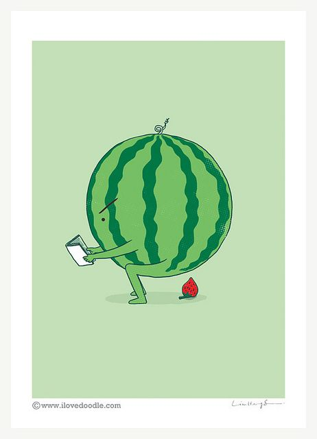 The making of strawberry on Flickr.Art print available here:www.ilovedoodle.com/products/the-making-of-strawberry-art…