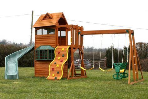 Spielhaus Fur Den Garten Selber Bauen Diy Anleitung Spielhaus Garten Spielhaus Und Spielhaus Selber Bauen