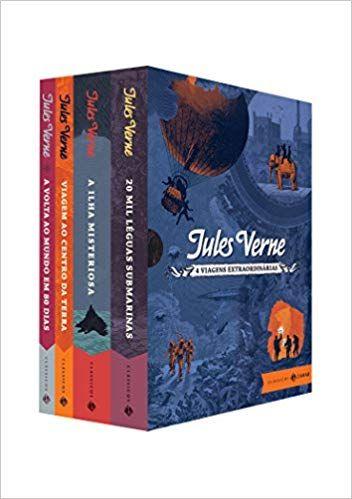 Viagens Extraordinarias Caixa 9788537817902 Livros Na Amazon