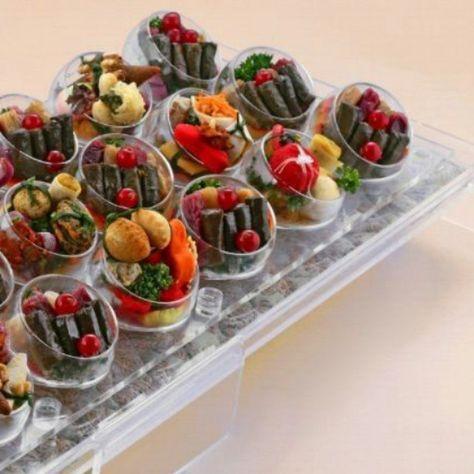 يمكنك طلب المحاشي والموالح بهذا الشكل للطلب والاستفسار الرجاء الاتصال 97236939 96911128 94413325 Padgram Libyan Food Mini Appetizers Elegant Food