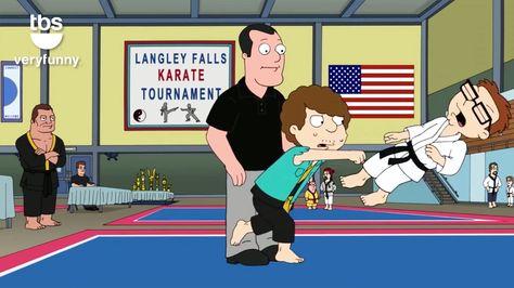 Snot Steve Showdown I American Dad I TBS - YouTube