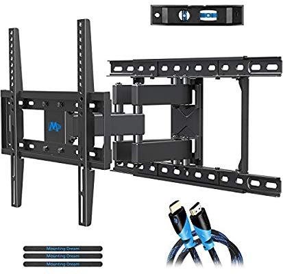 Amazon Com Mounting Dream Tv Mount Full Motion Tv Wall Mounts For