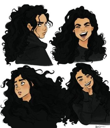 Super Hair Curly Illustration Character Design 31 Ideas In 2020 Character Design Inspiration Character Art Female Character Design
