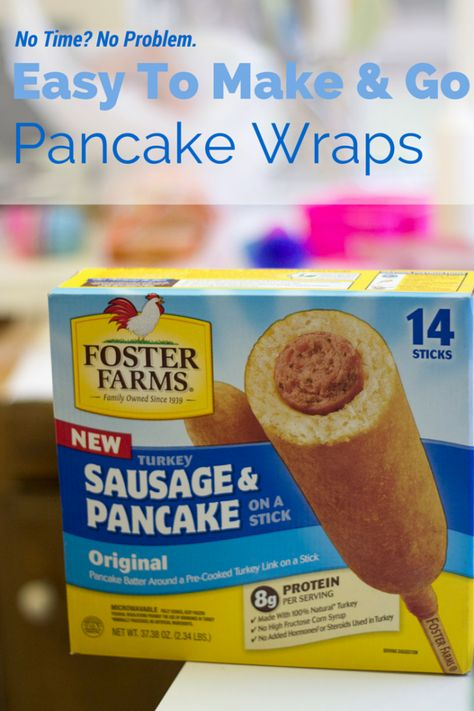 Panche Per Fast Food.Easy To Make Go Pancake Wraps Pancakes On A Stick Delicious