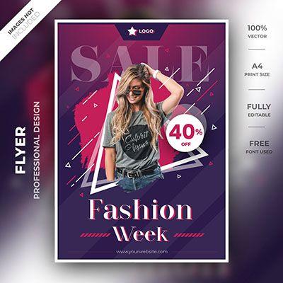 Fashion Flyer Template Flyer Template Flyer Fashion Templates