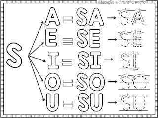 Atividades Para O Ensino Infantil Caderninho Com Silabas Simples