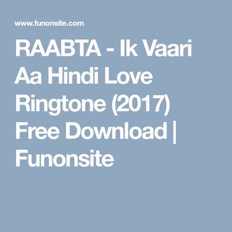 new love ringtone song download 2017