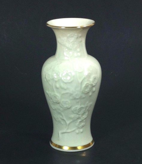 Lenox Vase Ming Blossom Made in USA 6'
