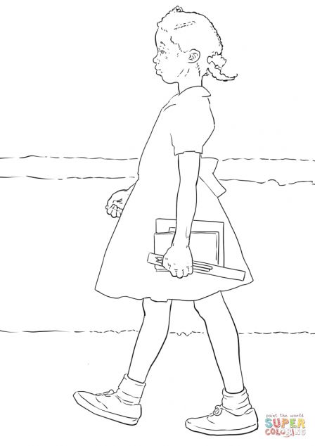 11 Ruby Bridges Coloring Pages Rubybridgescoloringpages