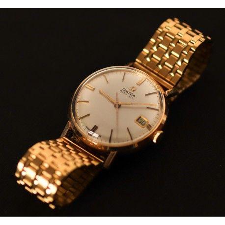 d4da231eeb3d Reloj antiguo de origen suizo omega, en oro de 18k funcionando en ...