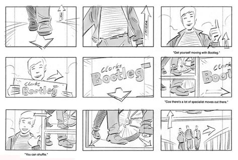 commercials Storyboard - Google 搜尋 StoryBoard\Comic - commercial storyboards