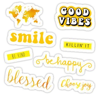 Yellow Pack Sticker Tumblr Stickers Iphone Case Stickers