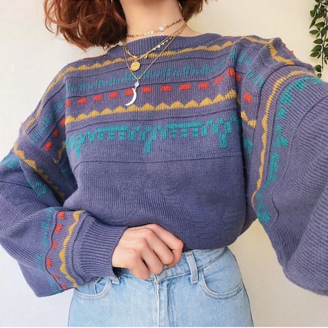 Vintage Looks: A Collection Of Amazing Vintage Outfits For Winter Look 80s, Look Retro, Look Vintage, Vintage Hippie, Vintage Fall, Retro Vintage, 80s Fashion, Trendy Fashion, Vintage Fashion
