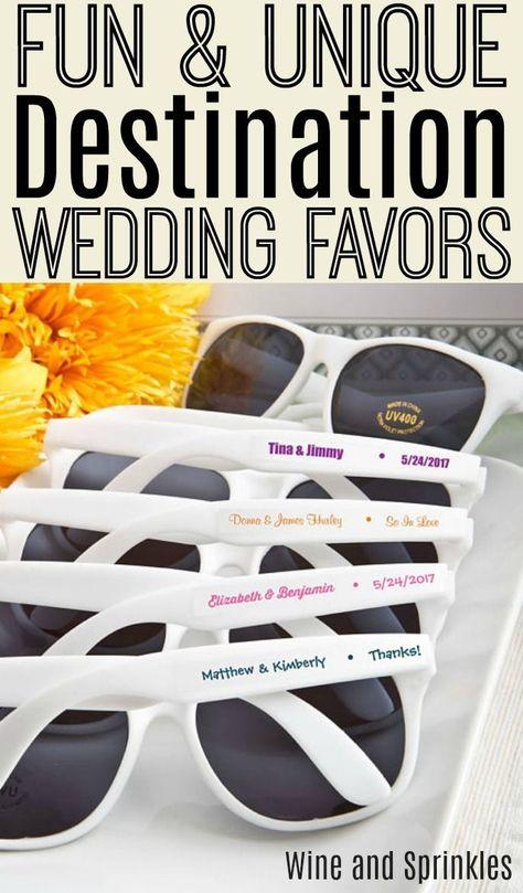 Beach Wedding Favors For A Destination Wedding Wedding Ideas On A