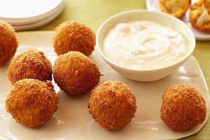 Resep Cheese Potato Balls Ala Mcdonald S Food Network Bola Keju Resep Makanan Pembuka
