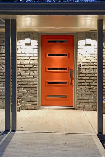 Mmi Door 32 In X 80 In Davina Low E Glass Right Hand Inswing 5 Lite Clear Painted Steel Prehung Front Door Z0351789r The Home Depot Unique Front Doors Modern Exterior Doors Modern Entrance