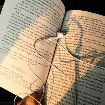 Books and music.