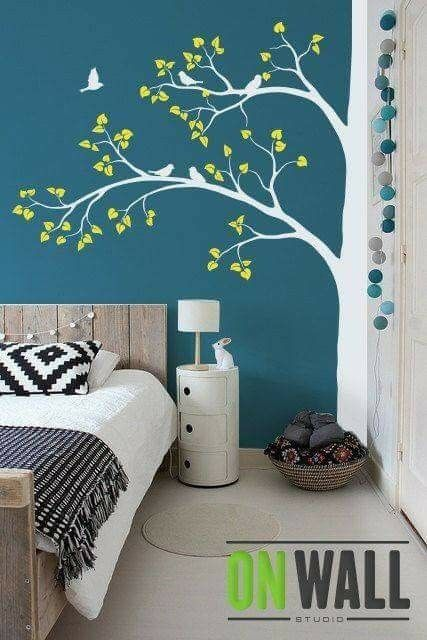 Pin by Pam Nations on Wall paintings | Diy wall painting ...