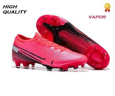 Mens Soccer Football Training Shoes Cleats Long Studs Non-Slip High-top Socks for Youth