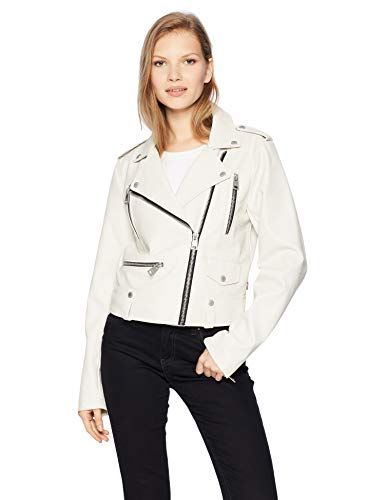 10 White Vegan Leather Jacket Options For Women And Men Levi S Women S Faux Leather Contemporary Mot Vegan Leather Jacket White Leather Jacket Vegan Clothing