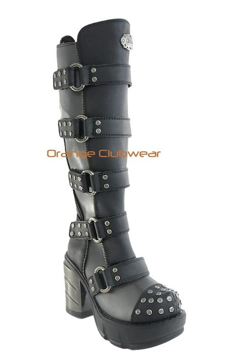 121 Best CyberGoth Boots images | Boots, Shoe boots, Gothic