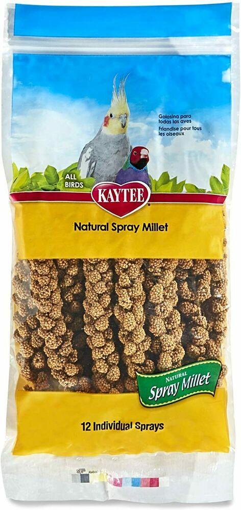 New Natural Kaytee Spray Millet All Birds 1 Pack 12 Ct Packaging May Vary Free Kaytee Pet Bird Birds Food Animals