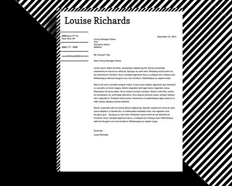 Edgy and stylish resume design for Microsoft Word Louise - microsoft word resumes