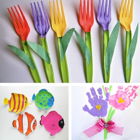 Adorable DIY Spring Crafts for Kids — LANGRIA