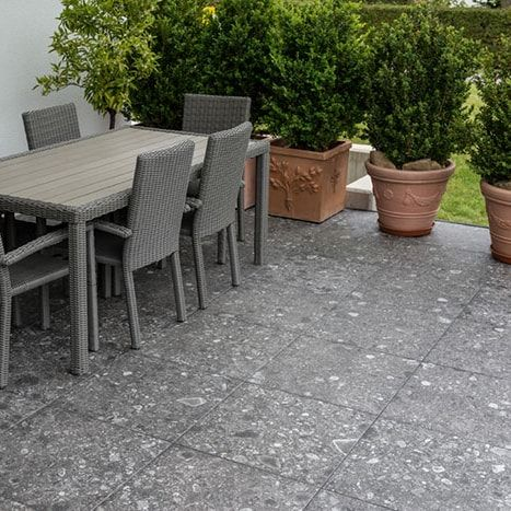 Only 38 M2 Norr Grey Terrazzo Look Anti Slip Italian Porcelain Tile Outdoor Tiles Patio Tiles Patio