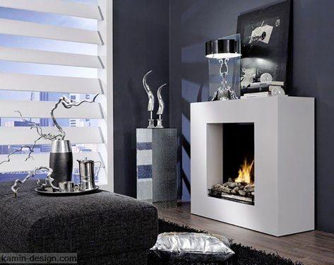 30 modelli di camini moderni senza canna fumaria fireplaces