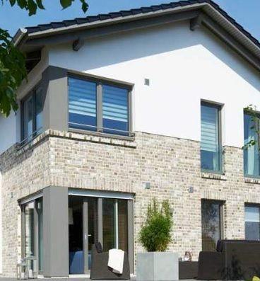 Stadtvilla klinker dunkel  Helle Klinker | Fassade | Pinterest | Klinker, Fassaden und Hausbau