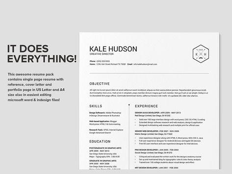 clean resume cv hudson resume styles cv resume template and resume format word - Cv Or Resume