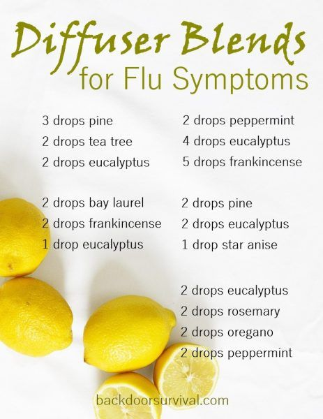 How to Prep Yourself for Flu Season with Essential Oils Backdoor Survival