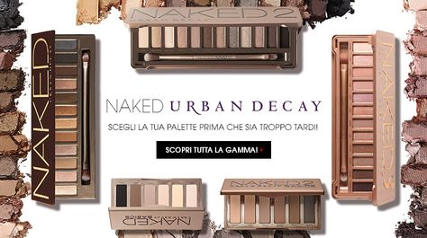 Naked Urban Decay: tutte!