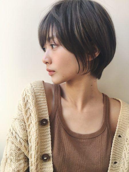 ショート 髪の量が多い人に似合う髪型 ヘアスタイル15選 アジア人 ショートヘア 韓国のショートヘア ショートヘア 女の子