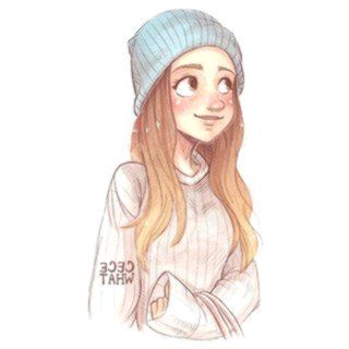 Cute Drawings Of Girls With Brown Hair Cute Girl Drawing Girl
