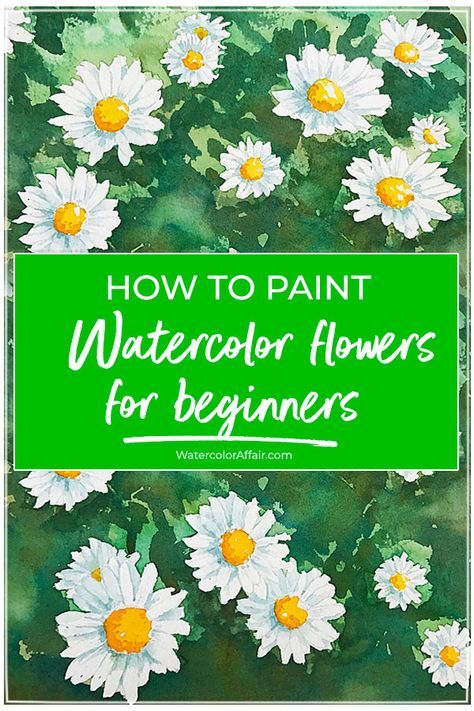 An Easy Watercolor Tutorial For Beginners To Paint A Beautiful