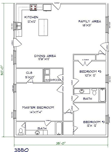 best 25 barndominium floor plans with various type size picture rh pinterest com